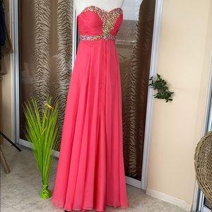 CINDERELLA maxi dress